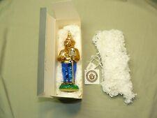 Kurt S. Adler Polonaise Smokey Bear Ornament Ap 1007 with Tags and Box