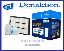 New Donaldson 4WD Filter Kit Toyota Prado 3.0L Turbo Diesel 1KD-FTV X902763