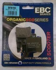 MBK CV50 EVOLIS (1997) EBC Delante Organic PASTILLAS FRENO DE DISCO (SFA193) (1