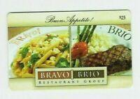 Bravo Brio Gift Card - Buon Appetito! Restaurant / Italian Food -  No Value