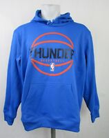 Oklahoma City Thunder NBA  Adidas Flawed Men's Climawarm Pullover Hoodie