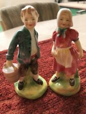 Vintage Royal Doulton Figurines Jack & Jill HN 2060 & 2061 - 1949 Excellent!
