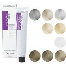 Fanola No Yellow Color Cream Colouring Blonde Hair Dye Anti Yellow Toner 100ml