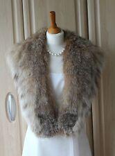 Vintage Real American Lynx Fur Collar EU Buyers only Please.