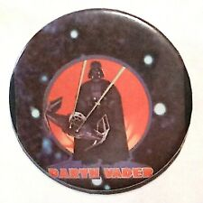 """Star Wars Darth Vader & TiE A New Hope 2.3"""" Vintage 1970's Photo Pin-Back Button"""