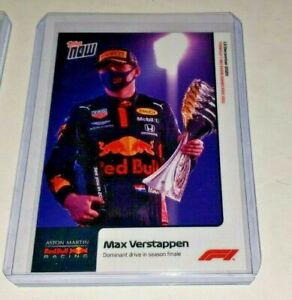 2020 TOPPS NOW Formula 1 F1 Max Verstappen #23 RC ROOKIE CARD