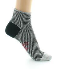 Glänzende gestreifte Socken -Lurex/Baumwolle BAX11