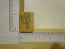 Rubber Stamp by RUBBER HEADS Candy Cane