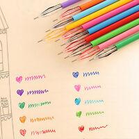 6x Illuminated Marker Syringe Highlighter Pen Watercolor Medical stationery J8P7