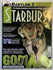 Starburst August 1998 Volume 20 No 12 Issue#240 Magazine Babylon 5 Godzilla