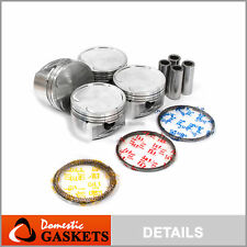 Pistons and Rings fit 03-05 Kia Rio 1.6L DOHC 16V A6D