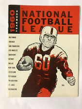 1960 National Football League Yearbook in Excellent Condition - Quite Rare