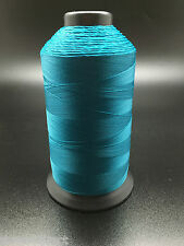 8oz Caribbean Blue T70 3000 Yards Bonded Polyester Sewing Thread #69 Fabric P44