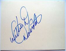 WILLIE DAVENPORT 1968 OLYMPIC 110m HURDLES GOLD WINNER ORIGINAL INK AUTOGRAPH