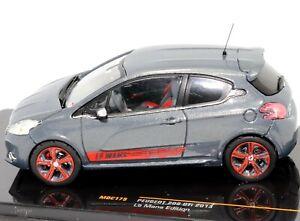 Peugeot 208 GTi 2013 Le Mans Edition 1:43 Scale Die-cast Model Car by IXO Models