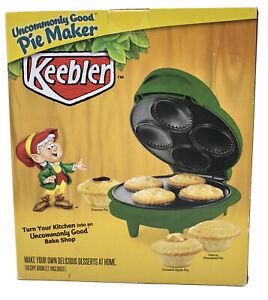 Vintage Keebler Mini Pie Maker Countertop Green Non Stick