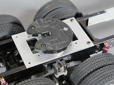 Aluminum 5th Wheel Mounting Plate Tamiya 1/14 RC King Grand Knight Hauler Scania