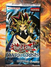 Yu-Gi-Oh Old Collectable Dark Crisis English 24 Booster Packs TCG