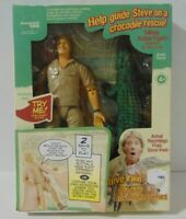 Talking Action Figure Steve Irwin Crocodile Rescue MB 2006 FREE SHIPPING
