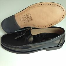 Mens Shoes Spanish Leather Penny Loafers Size UK 5 6 7 8 9 10 11 12 Moccasins
