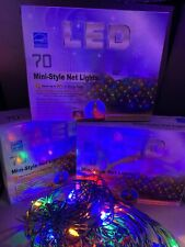 LED NET CHRISTMAS LIGHTS🎄280 COUNT🎄MULTI COLOR 🚢FAST FREE SHIPPING🚢