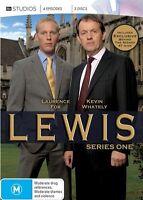 Lewis Season One Series 1 (DVD, 2012, 3-Disc Set) UK Police Drama_REG 4