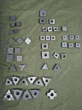 Valenite misc. Insert lot tooling 47 pc. Machinest
