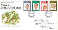 10 SEPTEMBER 1980 FAMOUS CONDUCTORS POST OFFICE FIRST DAY COVER BOURNEMOUTH FDI