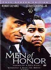 Men of Honor (DVD, 2002, Full Screen Edition) SEALED DeNiro Gooding Jr