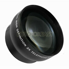 58mm 2.0X TELE Telephoto Lens for Digital Camera 2X 58