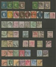 Ceylon 1857-1936.  QV - KGV Fair to Fine Used collection.   Cat £741