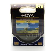 Hoya 52mm CPL CIR-PL Slim Circular Polarizing Digital Filter for Camera Lenses