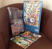 Heye Puzzles, Triangular Box, 2000 Pc - Performance, Calligaro HY29635