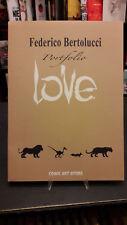 """Federico Bertolucci """"Love"""" portfolio 100 copie numerato Lucca 2016 copia #39"""