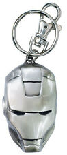 Key Chain Marvel Heroes Iron Man Head Pewter