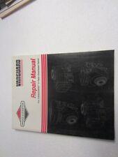 Briggs & Stratton 272144 Vanguard V-Twin OHV Repair Manual