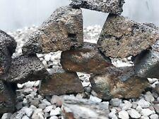DIY Cave build Cut lava rock aquarium fish tank stone beneficial bacteria media