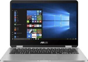 "ASUS VivoBook Flip TP401MA-BZ235R 14"" Touch Intel Celeron Notebook Win 10 PRO"