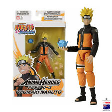 Bandai Anime Heroes Naruto Shippuden Naruto Uzumaki Action Figure