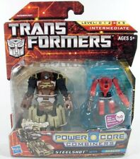 Transformers PCC Powercore Power Core Combiner Wars Steelshot & Beacon MOSC