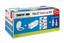 Toilet fresh-up-Set für C200 - mit Rädern.  (auch für ältere Kasetten)
