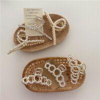 Women's Faux Pearl Hair Claw Clip Clamp Ladies Hairpins Grips Fashion Headwear/*