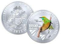 Gambia 1000 Dalasis 2015 UNC Green Bee-eater Bird Commemorative coin