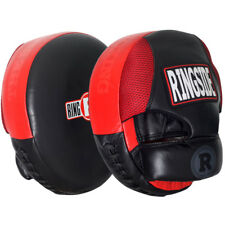 Ringside Air Boxing Punch Mitts - Red/Black