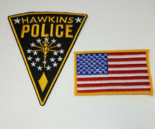 Stranger Things Hawkins Police Patch Set of 2 cosplay prop costume