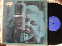 HELEN MERRILL lp SELF-TITLED EMARCY MG-36006 DG DRUMMER BLUE-BACK ORIGINAL