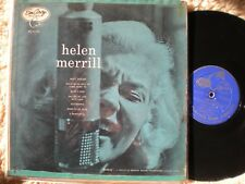 Helen Merrill lp Self-titled Emarcy MG-36006 DG Drummer logo Blue-Back Original