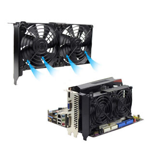 9CM 92MM 3PIN 12V Video card companion fan Suitable for PCI slot graphics card