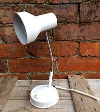 Vintage Retro Goose Neck Desk Lamp Light Mid Century - Shabby Industrial
