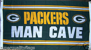 NEW 3x5 ft GREEN BAY PACKERS CAVE FLAG au